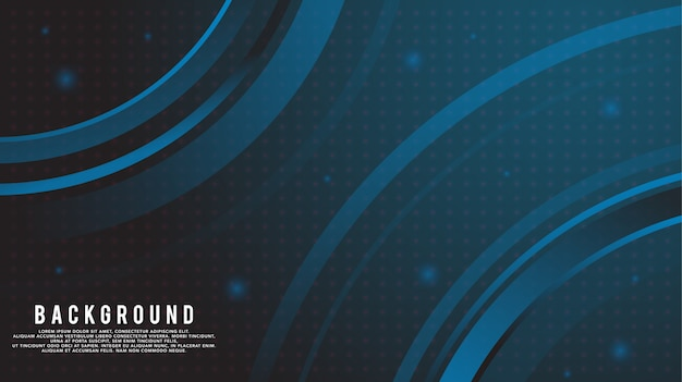 Dark gradient circle abstract background