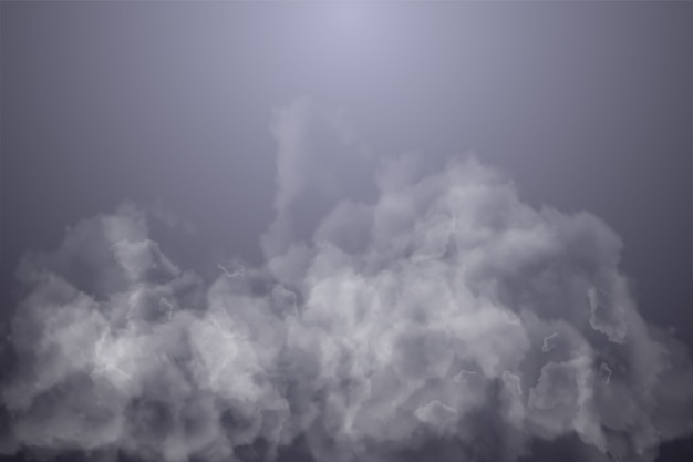 Dark gradient and smoke illustration