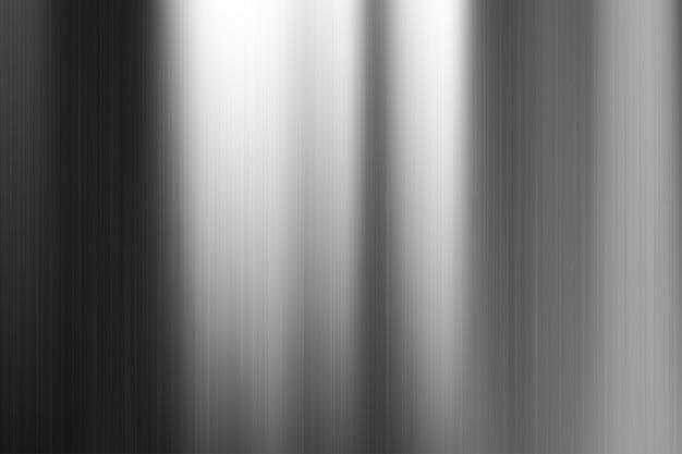 暗い灰色の起毛金属のテクスチャ