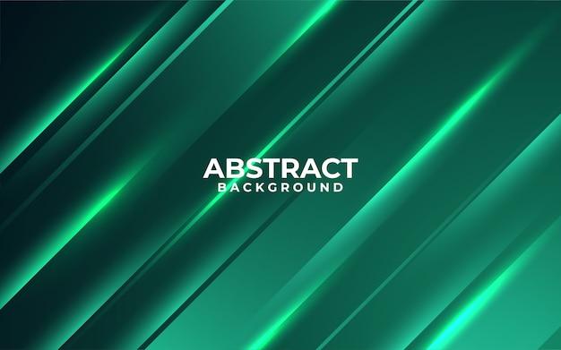 Темно-зеленый фон с минималистской концепцией
