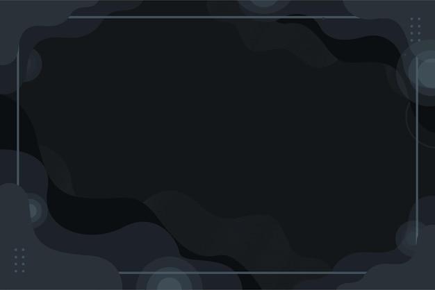 어두운 회색 검은색 추상 파 배경