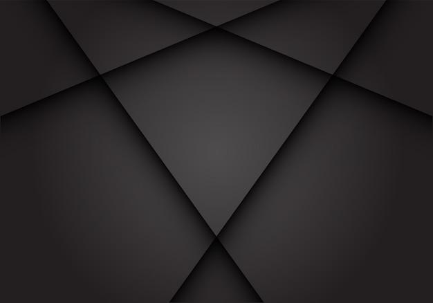 Dark grey cross shadow blank space background.