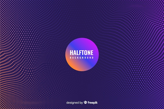 Dark halftone background