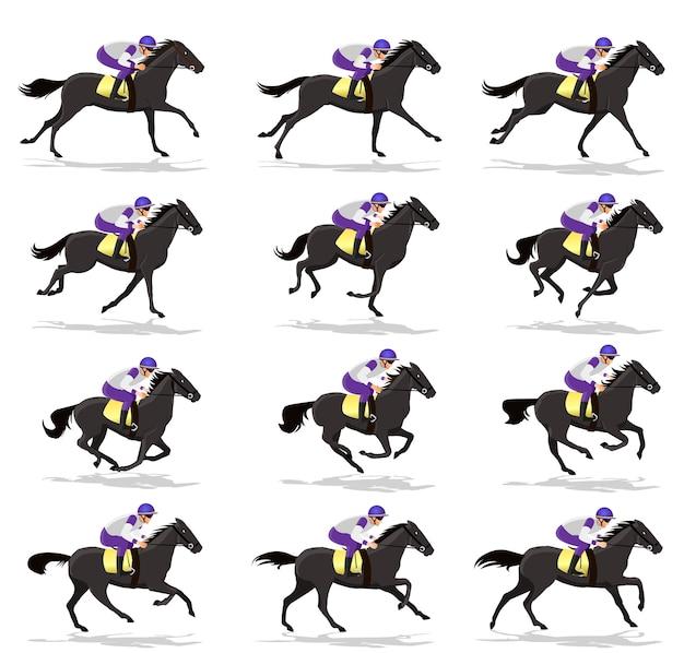 Dark horse run cycle