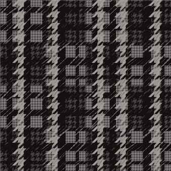 Dark houndstooth pattern
