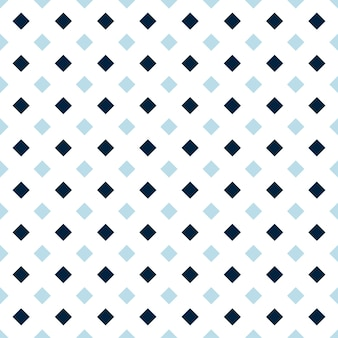 Dark and light blue dimoand shape seamless pattern, checked background