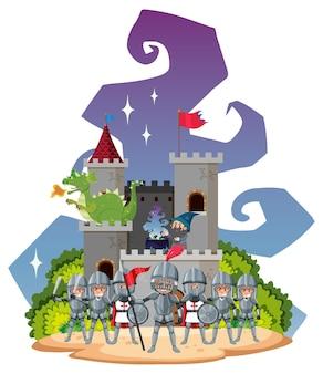 Темная магия и волшебник в замке