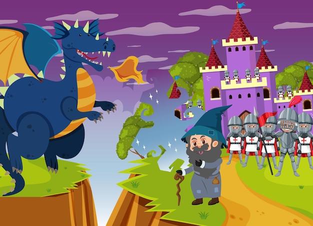 A dark magic kingdom