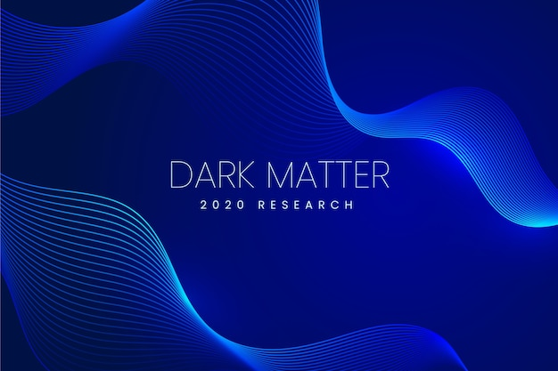 Dark matter wavy background