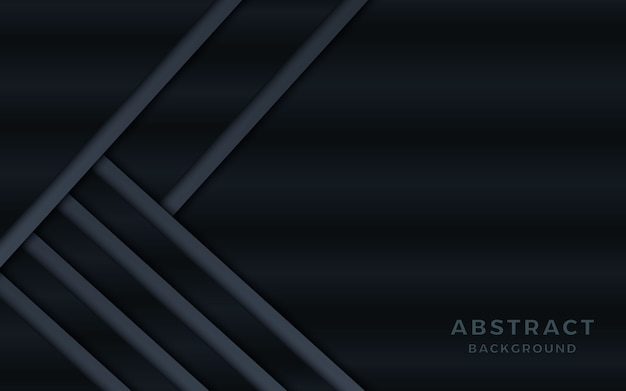 Dark metallic abstract background with overlap layers.