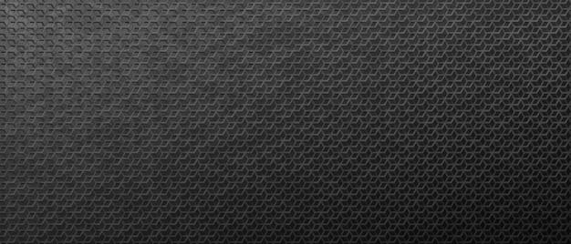 연결된 마름모 배경에서 어두운 금속 패턴