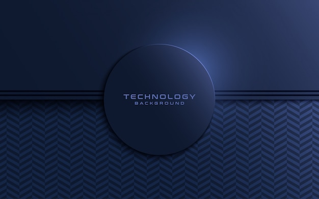 Dark navy textured layer overlap background with circle shapes.