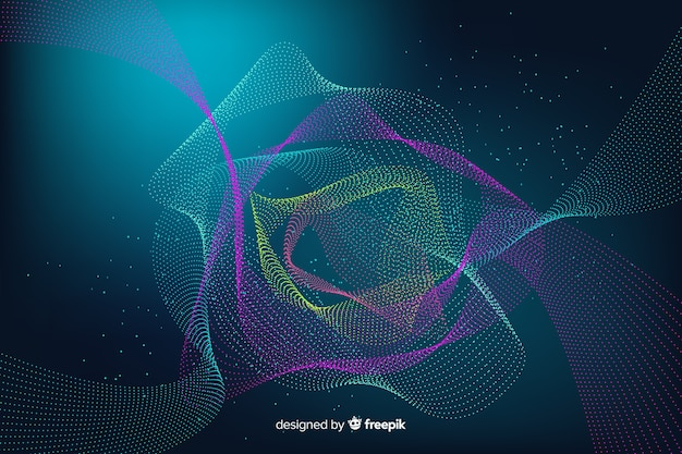 Dark particles background