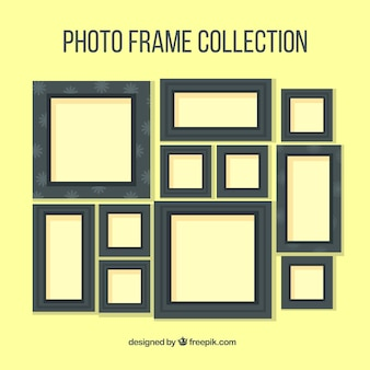 Dark photography frames collection