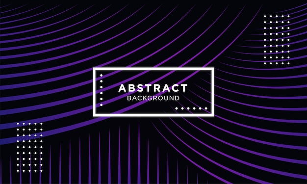 Dark purple abstract geometrical background with blend shapes