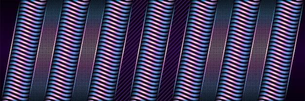 Темно-фиолетовый абстрактный фон с градиентным кругом