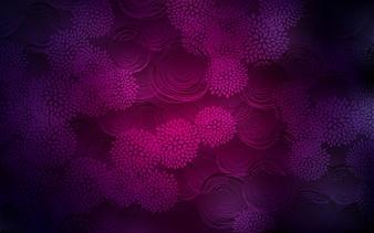 Dark Purple vector natural elegant background