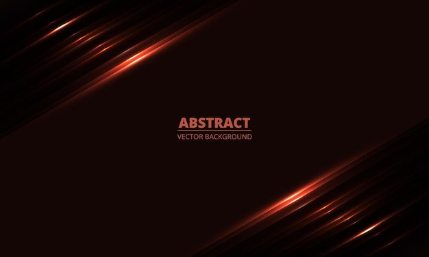 Dark red geometric background with diagonal glowing red light lines and shadows