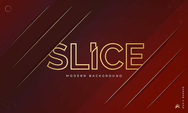 Dark red maroon background with slice effect