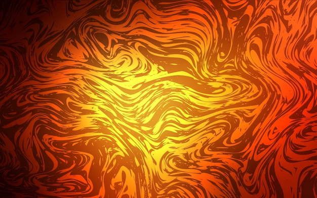Dark red vector background with lava shapes