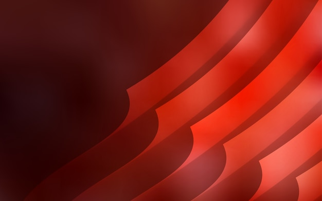 Dark red vector cover with straight stripes