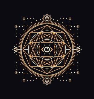 Dark sacred symbols