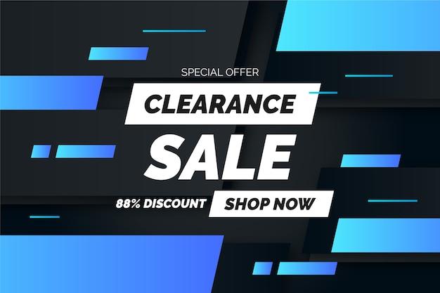 Dark sales background style