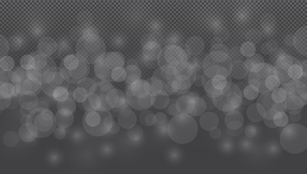 Темно-серебристо-серый шаблон боке