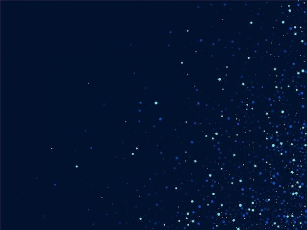 Dark star border. blue cosmos