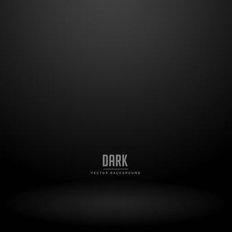Dark studio room vector background