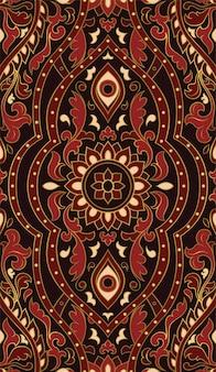 暗い様式化されたパターン。