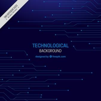 Темный фон технологический