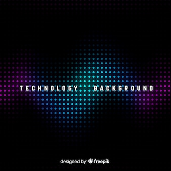 Dark technology abstract background