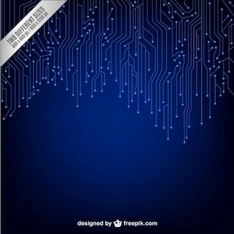 Dark technology background
