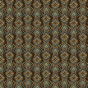 Dark traditional songket pattern Free Vector