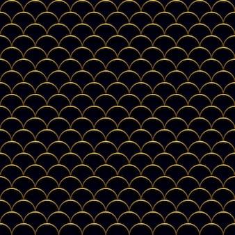 Dark waves pattern