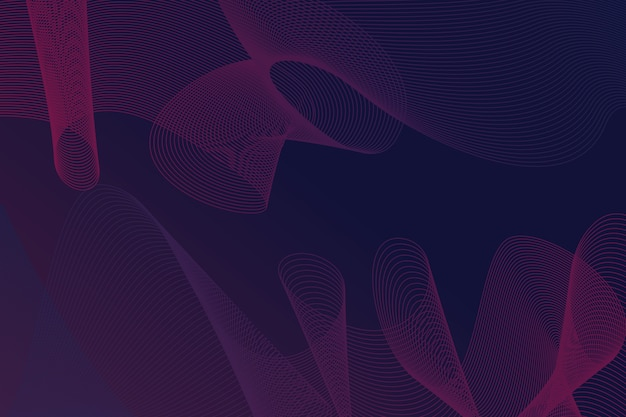 Dark wavy background concept