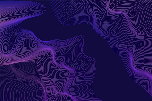 Dark wavy background design
