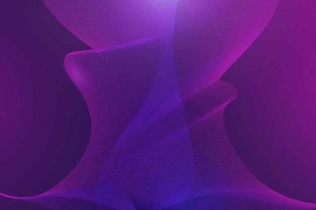 Dark wavy background design