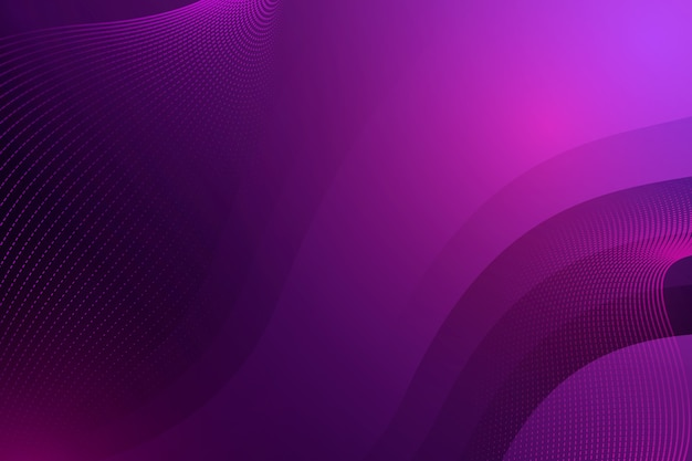 Dark wavy background with dots and copy space