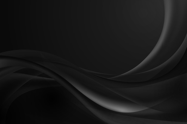 Dark wavy background
