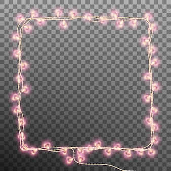 Darlings hearts garland lights.