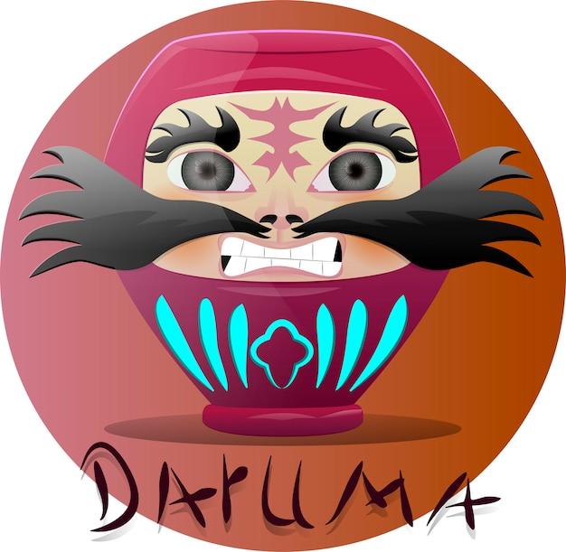 Daruma japan doll