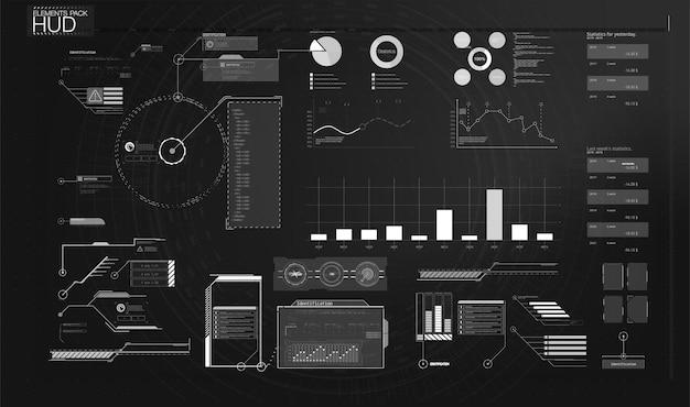 대시보드 사용자 관리 패널 템플릿 디자인. 분석 관리 대시보드. 다이어그램 템플릿 및 차트 그래프, 그래픽 정보 시각화 illustration.technology 사용자 인터페이스 표시.