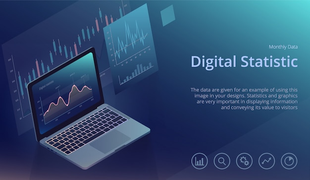 Data analysis and digital statistics template