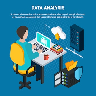 Data analysis isometric