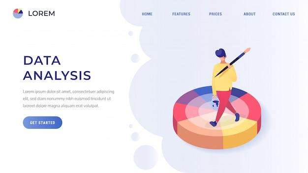 Data analysis isometric