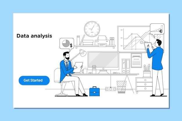 Data analysis, search engine optimization