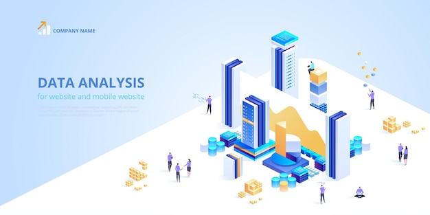 Data analysis for website and mobile website