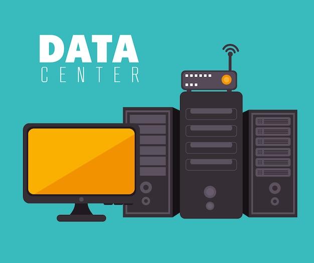 Data center and hosting